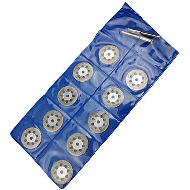 der elektrische Abschnitt Schmirgel Scheibe Jade Jadestein Blattabschnitte von 10 Stück