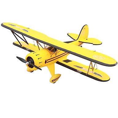 RC飛行機 Waco YMF-5D 5チャンネル 2.4G 1:8 50KM / H KM / H 一部組立てが必要 ブラシレス電気