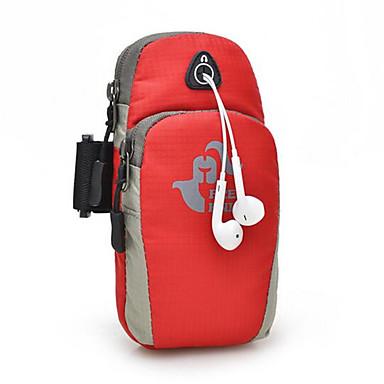 Armband Handy-Tasche für Radsport / Fahhrad Fitness Reisen Laufen Jogging Sporttasche Wasserdicht Rasche Trocknung tragbar Skifest