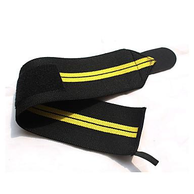 Suporte de Mão & Punho Suporte para Esportes Ajustável Fitness badminton Amarelo