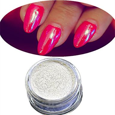 1 pcs Akrylpulver / Akryl Set / Pudder Skinnende / Lys / Nail Glitter Nail Art Design