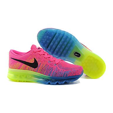 online retailer fd70d 34501 Nike Flyknit Air Max Women s Running Shoes Light Pink Nike Flyknit AirMax  Sports Sneakers  05070787