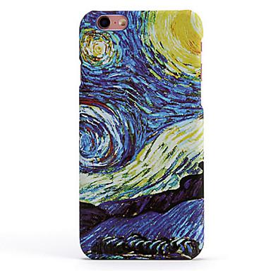 Pour Coque iPhone 6 Coques iPhone 6 Plus Etuis coque Motif Coque Arrière Coque Paysage Dur Polycarbonate pour AppleiPhone 6s Plus iPhone