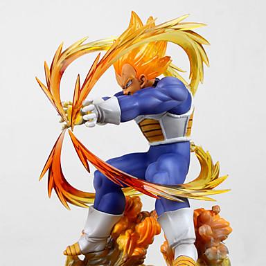 billige Anime actionfigurer-Anime Action Figurer Inspirert av Dragon Ball Vegeta PVC CM Modell Leker Dukke Herre