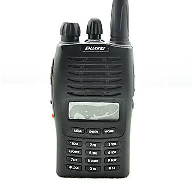 PX-777 VHF Funkgerät Tragbar Analog Batterie-Warnanzeige Notruf PC-Software programmierbar Stromsparfunktion Sprachansage VOX