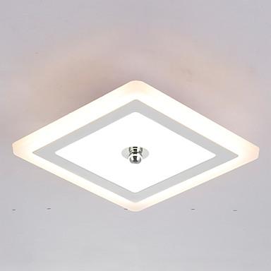 Moderne/Contemporain LED Montage du flux Lumière d'ambiance Pour Salle de séjour Chambre à coucher Cuisine Salle à manger 110-120V