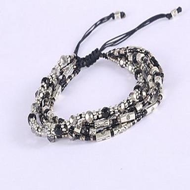 נשים צמידי צ'ארם צמידי גלישה בוהמי חברות אופנתי פרנזים בד סגסוגת תכשיטים תכשיטים עבור יומי קזו'אל