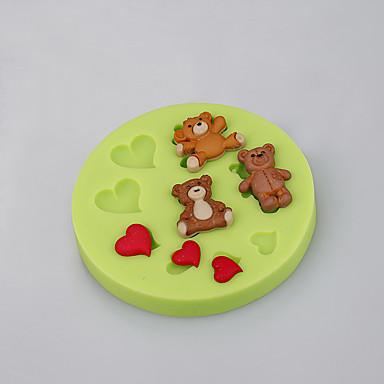 Bakeform Tekneserie Formet Sjokolade Pai Til Småkake Kake Silikon Økovennlig Høy kvalitet Ferie