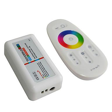 billige belysning Tilbehør-jiawen 2.4g rgb ledet styreenhet berøringsskjerm ledet lys strip kontroll system (dc 12-24v)