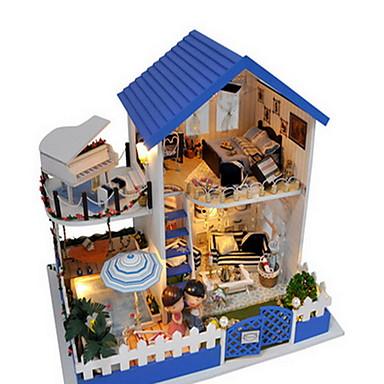 Házak Fa Modern/kortárs Ország Dekoratív kiegészítők