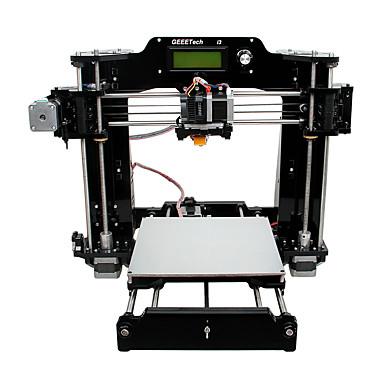 すべての黒のアクリルprua i3はX 3Dプリンタ(1.75ミリメートルフィラメント0.3ミリメートルのノズルを)geeetech