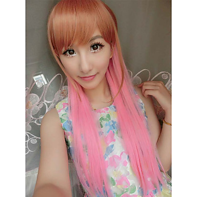 moda sexy kawaill perucas marrom mix de-rosa bonita do partido à venda