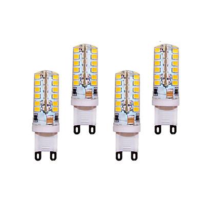 5W G9 Luminárias de LED  Duplo-Pin T 48 SMD 2835 400 lm Branco Quente / Branco Frio Decorativa AC 220-240 V 4 pçs