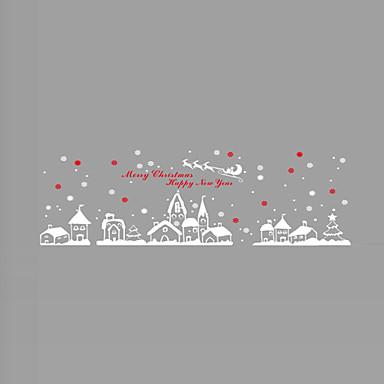 væg klistermærker væg decals stil Jul by pvc wall stickers