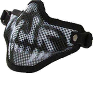 svart farge andre materialer beskyttelse tilbehør svart skull utendørs krigsspill vernemaske