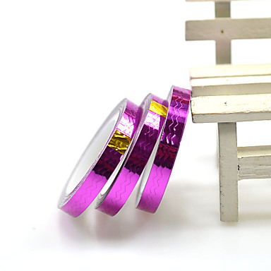 1 Nagel-Kunst-Aufkleber Hochzeit Make-up kosmetische Nagelkunst Design