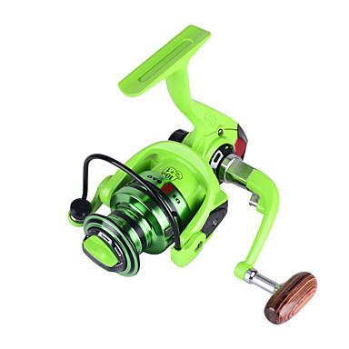 Spinne-hjul 5.2:1 Gear Forhold+11 Kulelager Hånd Orientering Byttbar Agn Kasting Isfikeri Spinne Ferskvannsfiskere Annen Trolling- &