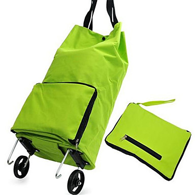 Bærbare Sammenklappelige Shopping Trolley Hjul Pakke Poser