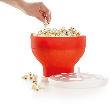 Köksredskap Silikon För Mikrovågsugn Hög kvalitet popcorn För köksredskap Hink 1st