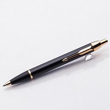 Markers & Markeerstiften Pen Balpennen Pen,Metalen Vat Zwart Inktkleuren For Schoolspullen Kantoor artikelen Pakje