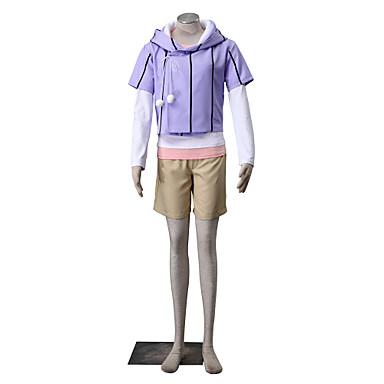 Inspiriert von Naruto Hinata Hyuga Anime Cosplay Kostüme Cosplay Kostüme einfarbig Langarm Mantel T-shirt Unterhose Für Frau