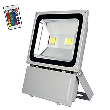 100w rgb avec t l commande ampoules led inondent ext rieur projecteur de s curit lumi re. Black Bedroom Furniture Sets. Home Design Ideas