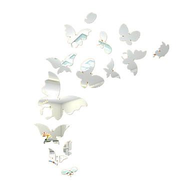 3D Wall Tarrat Lentokone-seinätarrat Peilitarrat Koriste-seinätarrat materiaali Irroitettava Siirrettävä Kodinsisustus Seinätarra