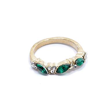 Damen Strass / Aleación Statement-Ring - Schmuck Modisch Silber / Golden Ring Für Geschenk / Alltag