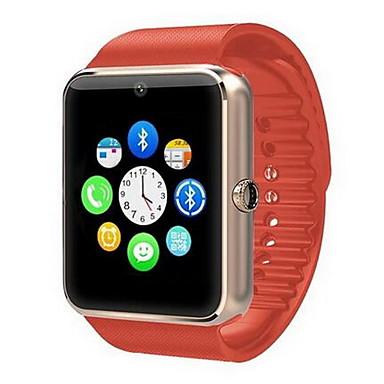 Heren Slim horloge Digitaal Aanraakscherm Afstandsbediening Kalender alarm Stappenteller Fitness trackers Stopwatch Rubber Band Cool