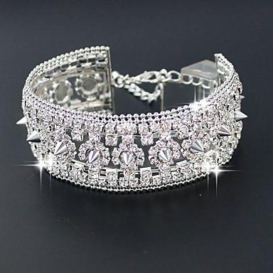 Dames Tennis Armbanden Modieus Legering Cirkelvorm Sieraden Bruiloft Kostuum juwelen