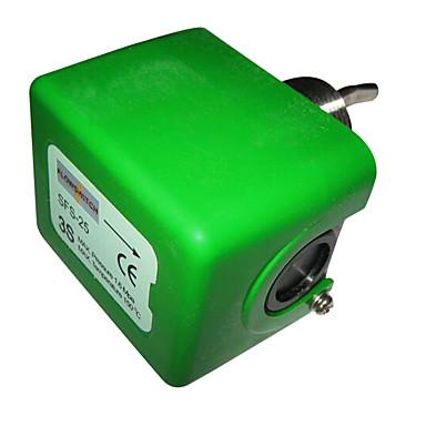slå elektroniske måleinstrumenter metall materiale grønn farge strømforsyningen