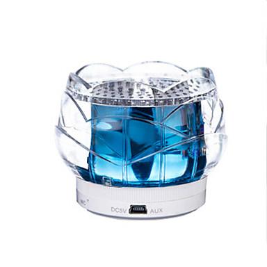 crystal lotus luidsprekerbox indoor bed bedlampje 's nachts verlichting touch control bluetooth voor telefoon Kerstmislicht