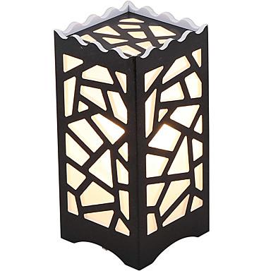 Hedendaags Traditioneel / Klassiek Noviteit Oogbescherming Tafellamp Voor PVC 110-120V 220-240V Wit Zwart