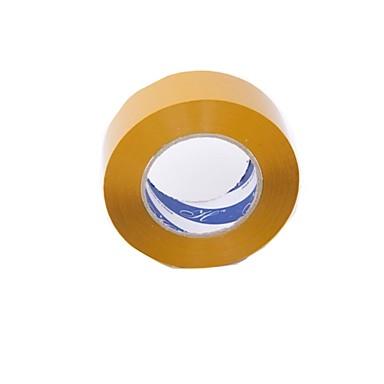 150 meter lang en 4,5 cm transparante beige plastic verzegeling plastic papier BOPP (2 delen a)