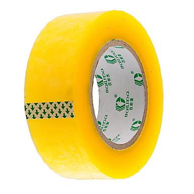 logística amarela transparente fita de embalagem de fita fita industrial 15x4.5cm de venda ampla de comércio