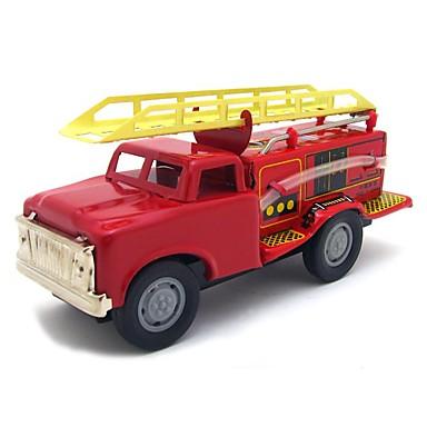 Speelgoedauto's Opwindspeelgoed Terugtrekauto/Inertie-auto Trein Brandweerwagen Speeltjes Noviteit Trein Brandweerwagens Metaal Stuks