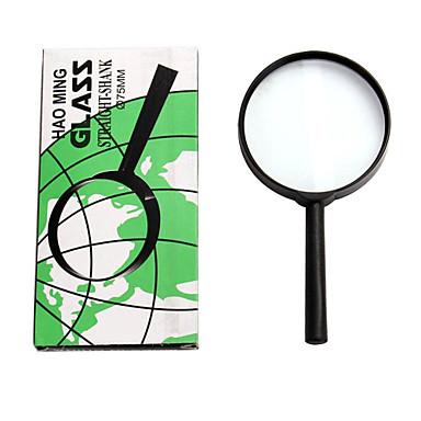 Forstørrelsesglas Generelt Brug / Læsning Generisk / Høj definition / Håndholdt 5X 75mm Normal Plastik