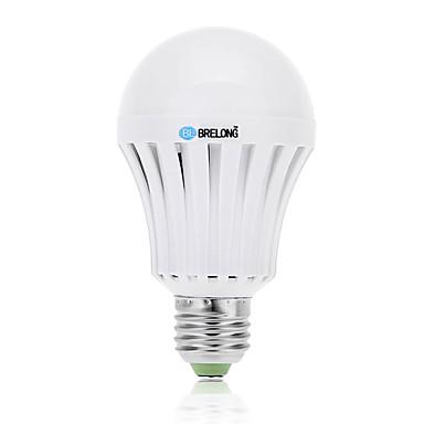 BRELONG® 9 W 800 lm E26 / E27 LED Kugelbirnen A60(A19) 18 LED-Perlen SMD 5730 Kühles Weiß 85-265 V / 1 Stück