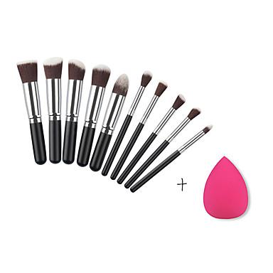10Contour Brush / Brush Sets / Blushkwast / Oogschaduwkwast / Lippenkwast / Wenkbrauwkwast / Eyelinerkwast / Concealerkwast / Poederkwast