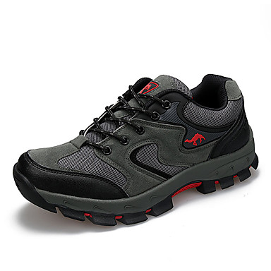 Herrn Schuhe Tüll Frühling Herbst Sneakers Wandern für Draussen Grau Braun Grün