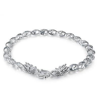 Herre Kjeder & Lenkearmbånd Sølv Personalisert Dyreformet Sølv Smykker 1 stk
