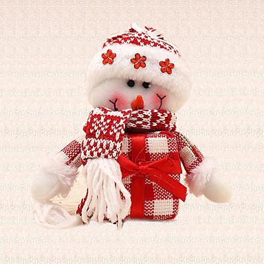 1pc gave snemand vedhæng juletræ charms dekoration hjem udendørs festival leverancer udefra