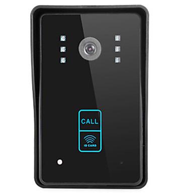 type draadloos kaart touch-key regendicht visuele deurbel