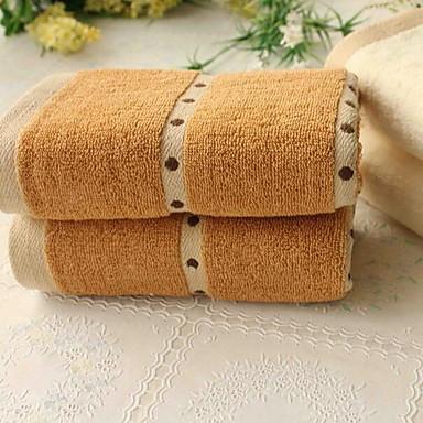 Frisk stil Vaskehåndklæde,Mønstret Overlegen kvalitet 100% Bomuld Strikket Jacquard Håndklæde