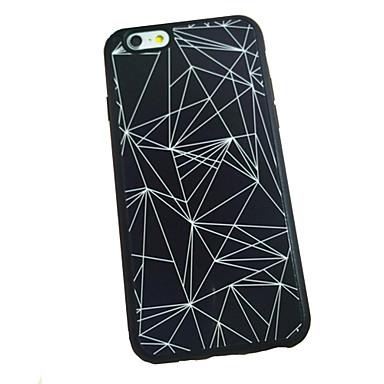 Etui Käyttötarkoitus Apple iPhone 6 iPhone 6 Plus Other Takakuori Geometrinen printti Pehmeä Silikoni varten iPhone 6s Plus iPhone 6s