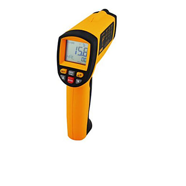 hand-held infrarood elektronische digitale thermometer (meetbereik: -50-500 ℃)