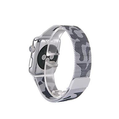 Milanisk sløyfe til Apple Watch 38mm 42mm rustfritt stål erstatning watchband