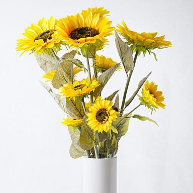 Keinotekoinen Flowers 1 haara Pastoraali Tyyli Muut Pöytäkukka