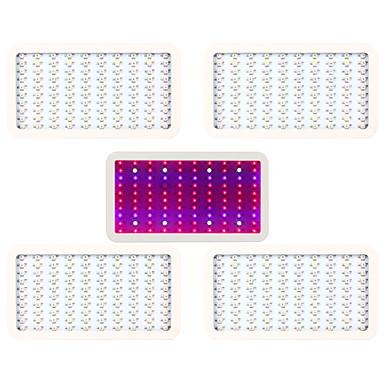 LED-drivhuslamper 10000 lm Naturlig hvit / Rød / Blå / UV Høyeffekts-LED AC 85-265 V 5 stk