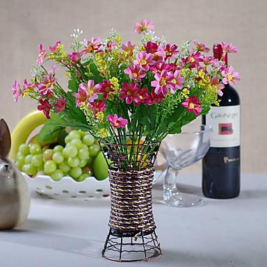1 1 Branch Polyester / Plastikk Daisies / Others Bordblomst Kunstige blomster 12.59Inch/32cm